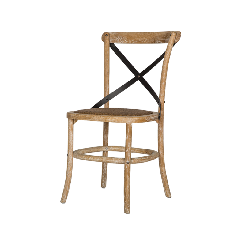 VZC0025 Cross Back Dining Chair
