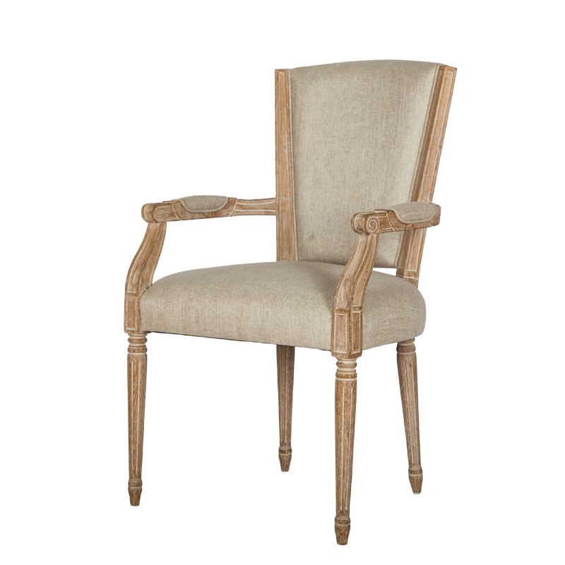 French Country Style Dining Armchair