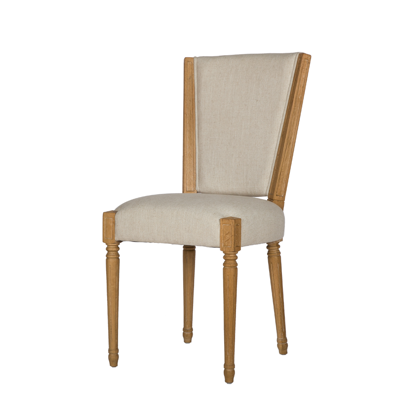French Country Style Dining Side Chair