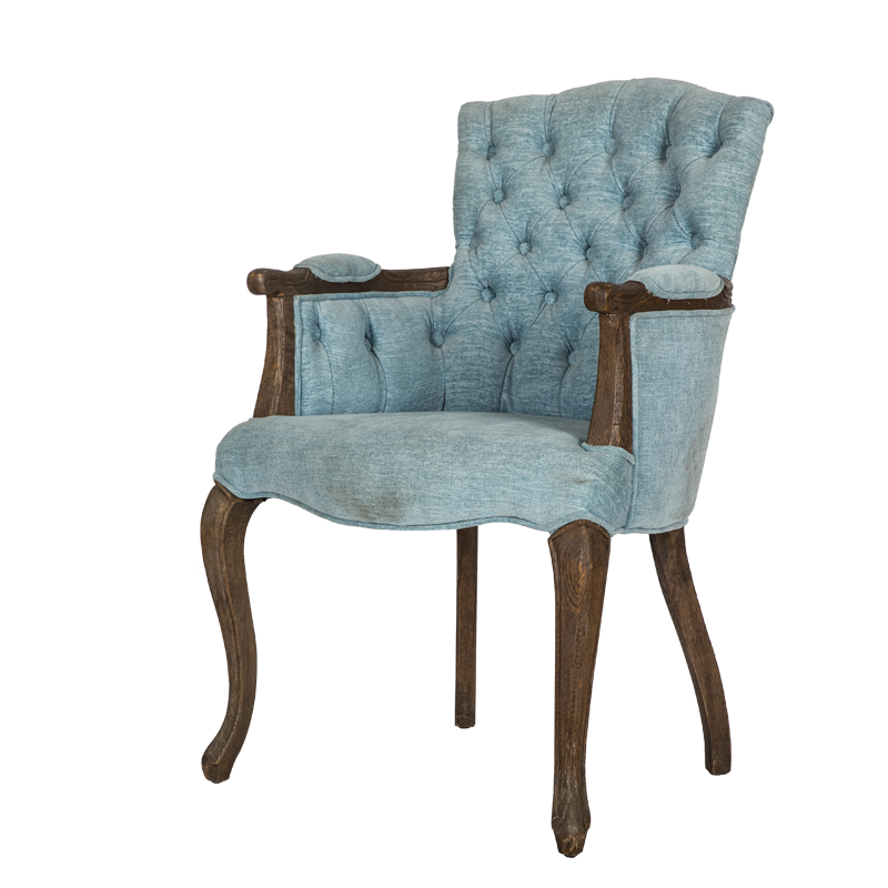VZC0112 Tufted Dining Armchair